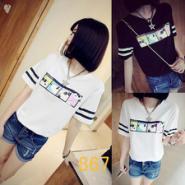 广州十三行便宜的服装T恤图片