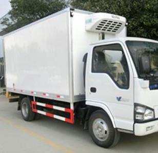 上海低温物流保温运输冷藏车出租图片
