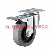 供应TF345寸防静电环保静音刹车脚轮-防静电TPR轮-防静电系数-防静电脚轮