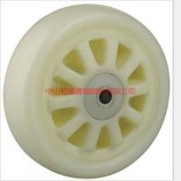 供应中山重型尼龙白芯白面通花单轮-重型尼龙白芯白面通花单轮厂价销售
