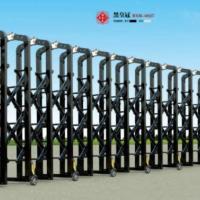 广州电动伸缩门每米价格_广州不锈钢伸缩门上门安装公司_嘉禾自动门厂家