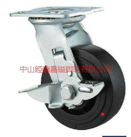 TF重型耐高温酚醛刹车脚轮图片/TF重型耐高温酚醛刹车脚轮样板图 (2)