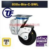 供应TF中型高弹力橡胶万向减震带弹簧轮-广东减震轮生产厂家-大量生产减震