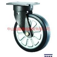 重型欧式铝芯聚氨脂万向脚轮图片