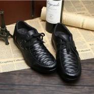 头层牛皮系带品牌男士内增高鞋子图片