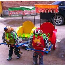 供应机器人拉车 动物拉黄包车 小洋人拉车