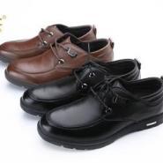 牛皮系带纯色时尚防滑鞋厂家直销图片