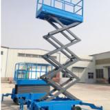 供应液压电动升降平台四柱牵引式升降机