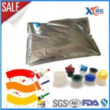 供应涂料包装袋 化工液体袋 化工染料内袋 化工液体软包装内袋