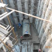 天津闭水桩深井顶管图片