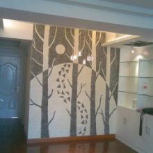 供应用于装饰墙面的欣菲墙衣怡然居装饰材料