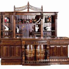 供应厂家直销防腐木酒吧吧台 酒吧家具