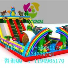 供应用于儿童游乐 宣传活动 项目经营的室内儿童充气滑滑梯图片