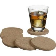 供应东莞软木广告宣传杯垫、软木杯垫、餐垫、咖啡杯垫、锅垫批发