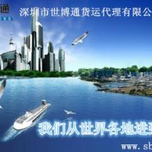 供应美国耐克鞋包税清关到深圳图片