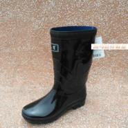黑色女式中筒雨鞋武汉哪儿有卖图片图片