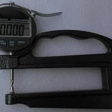 供应双圆头数显千分测厚规薄膜测厚仪表0-12.7mm0.001mm数字电子测量厚度表120mm喉深