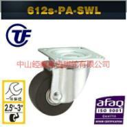 TF612款3寸低重芯尼龙万向轮图片