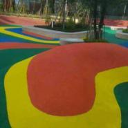 幼儿园地板施工图片