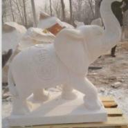 哪里有加工石雕大象厂家图片