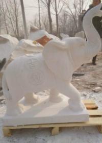 哪里有加工石雕大象厂家
