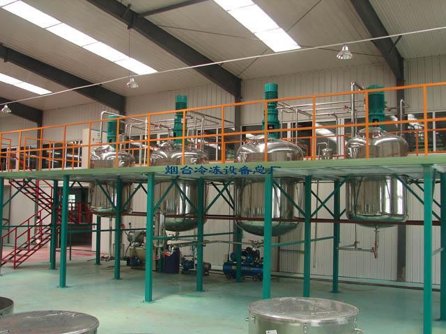 冷冻设备烟台环保油漆涂料化工设备烟台环保油漆涂料化工设备灶