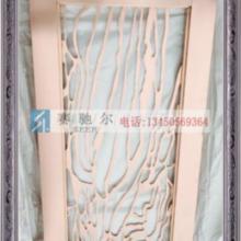 供应古铜不锈钢镂空线条图案屏风  不锈钢架子