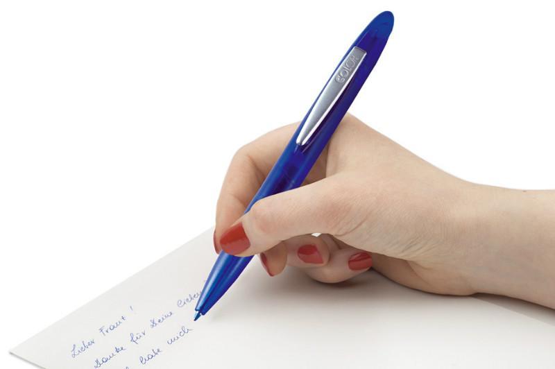 供应刻乐圃338mm红蓝双色印章笔