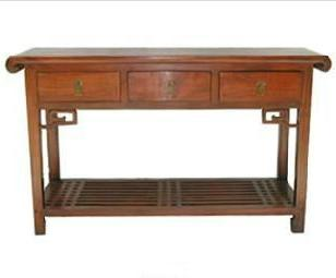 广东红木办公桌图片