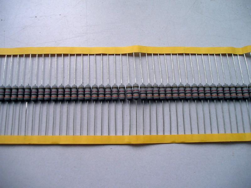 供应金属氧化膜电阻温度保险丝电阻器
