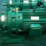 常州国茂摆线针轮减速机直联带电机