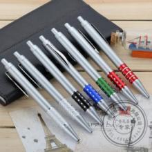 供应广东塑料圆珠笔订制半金属笔定制厂