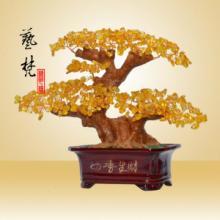 供应艺梵家居装饰树脂工艺品四季生财树
