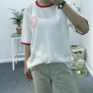 女式韩版t恤图片
