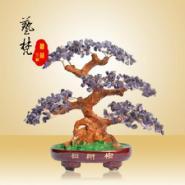 艺梵树脂工艺品中式植物招财树摆件图片